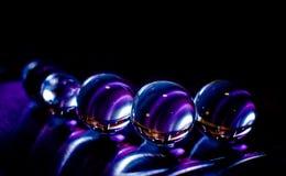 wykładać marmurem purpury Zdjęcie Stock