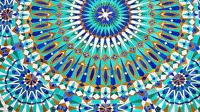 wykłada w Morocco Africa starej płytce i colorated podłogowym ceramicznym abst obraz stock