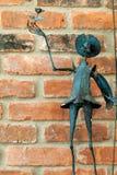 wykładowcy donkiszota statua Zdjęcia Stock