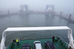 Wyk (Foehr) - Ferry dock in the harbor Stock Images