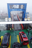 Wyk (Foehr) - Ferry dock in the harbor Stock Image