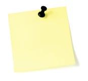 wykaz pushpin blank Obrazy Stock