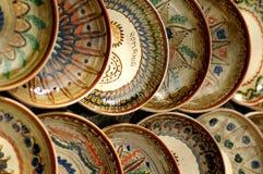wykonane ręcznie miski rąk maramures Romania Obraz Stock