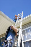 wykonawcy dach Zdjęcie Royalty Free