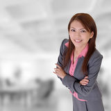 wykonawcza uśmiechnięta kobieta Zdjęcie Stock