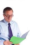 wykonawczy męski senior Obraz Stock