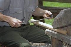 wykonywać ręcznie meblarska ręka Obraz Royalty Free