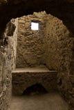 Wykopywane ruiny kuchenna kuchenka w Pompeii obrazy royalty free