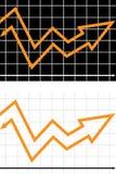wykres Obraz Stock