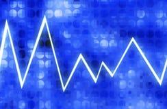 Wykres 3 Zdjęcie Stock