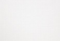 Wykres siatki notatnik obciosujący papier z kopii przestrzenią Zdjęcie Stock