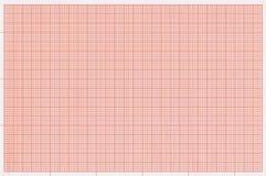 Wykres siatki skala papieru tło Zdjęcia Royalty Free