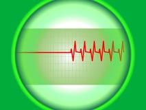wykresu serce s Fotografia Stock