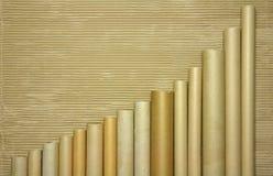 wykresu target2090_0_ Fotografia Royalty Free