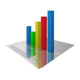 Wykresy Obraz Stock