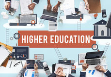 Wykształcenie Wyższe kawalera wsparcia finansowego Akademicki pojęcie Fotografia Stock