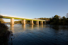 Wylam bridge Royalty Free Stock Photography