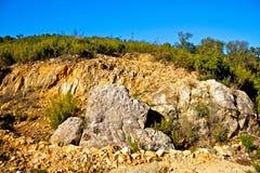 wylesienie erozja Fotografia Royalty Free