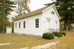 Wylie schoolhouse in Voluntown Connecticut royalty free stock photography