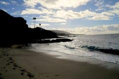wyluzuj Kalifornijskie Laguna beach zdjęcie stock
