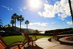 wyluzuj Kalifornijskie Laguna beach fotografia royalty free