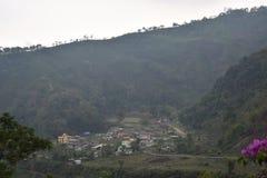 Wymarzeni gruntowi wzgórza Fotografia Royalty Free