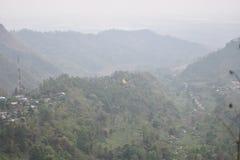 Wymarzeni gruntowi wzgórza Fotografia Stock