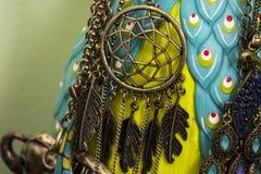Wymarzona łapacz kolia na biżuteria właścicielu zdjęcie stock