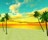 Wymarzona wyspa Zdjęcie Royalty Free