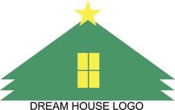 WYMARZONEGO domu logo Obraz Stock
