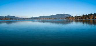 Wymarzony czas na jeziorze Obraz Royalty Free