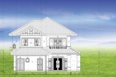 wymarzony dom ilustracja wektor