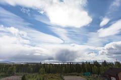 Wymarzony niebo krajobraz Obrazy Royalty Free