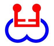wymiana symbol osób niepełnosprawnych obraz stock