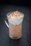 Wyśmienicie cappuccino z pianą Zdjęcie Stock