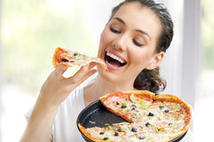 Wyśmienicie pizza Fotografia Royalty Free