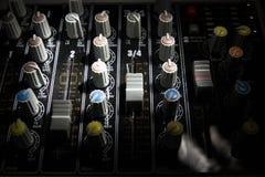 wymieszać dźwięk biurko Zdjęcie Stock
