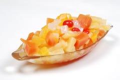 wymieszać miskę owoców Obraz Royalty Free