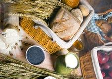 wymieszać chlebowa Fotografia Stock