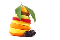 wymieszać owoców Zdjęcia Royalty Free