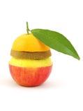 wymieszać owoców zdjęcie royalty free