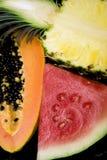 wymieszać owocowych Obrazy Royalty Free