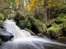 Wyming溪,高峰区,英国 免版税库存图片