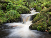 Wyming Brook, Peak District, UK Stock Image
