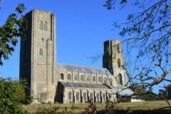 Wymondham修道院,诺福克,英国 免版税库存图片