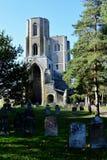 Wymondham-Abtei, Norfolk, England lizenzfreies stockbild