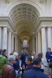 Wymuszona perspektywa Borromini w Rzym Obraz Stock
