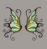 wymyślnych skrzydła Zdjęcie Stock