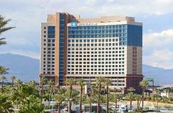 Wyndham divisent le temps bâtiment d'hôtel Photo stock
