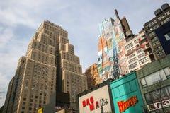 Wyndham New Yorker Hotel en Manhattan Fotografía de archivo libre de regalías